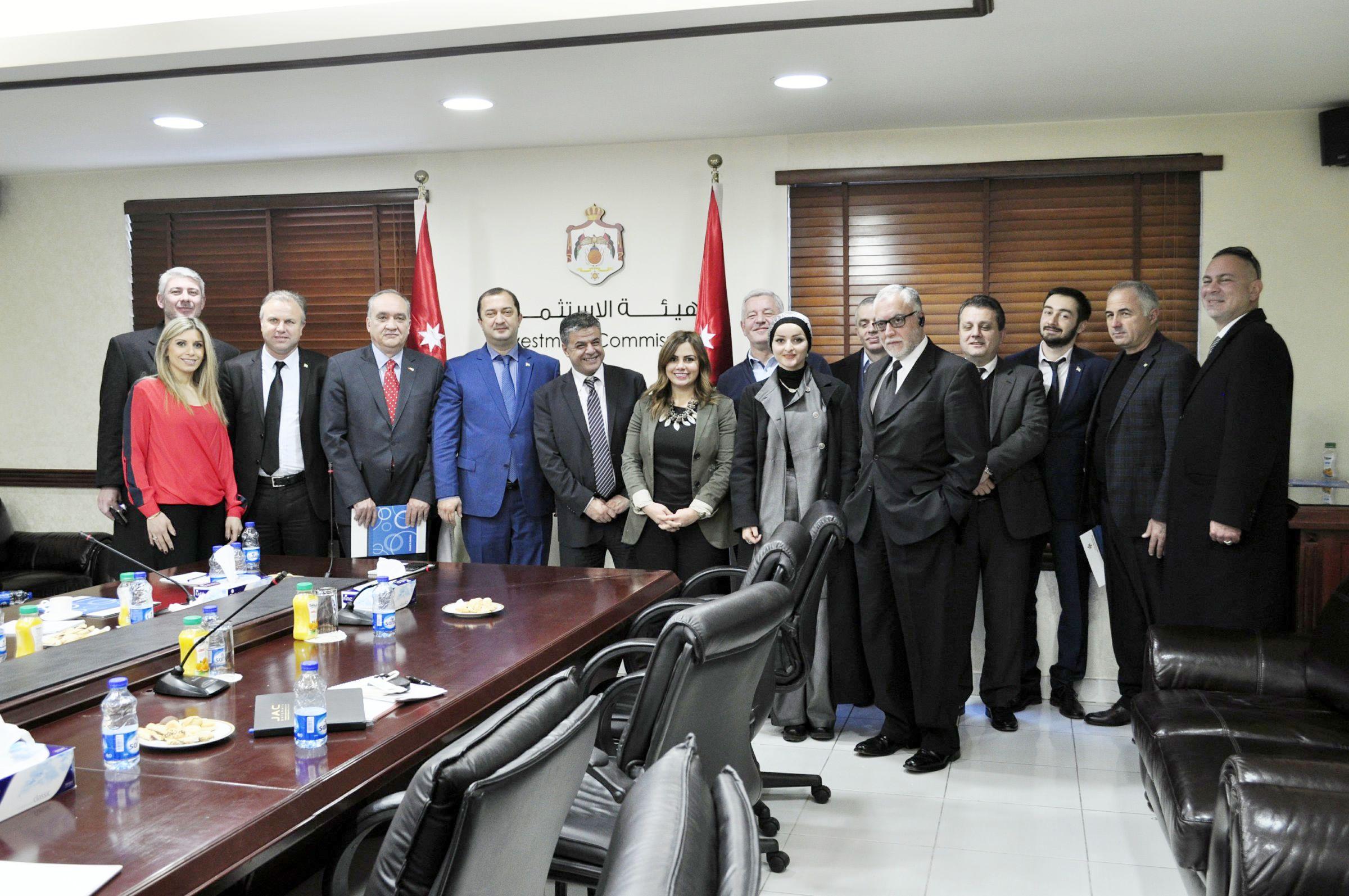 Встреча с Иорданским Советом по Содействию Инвестициям