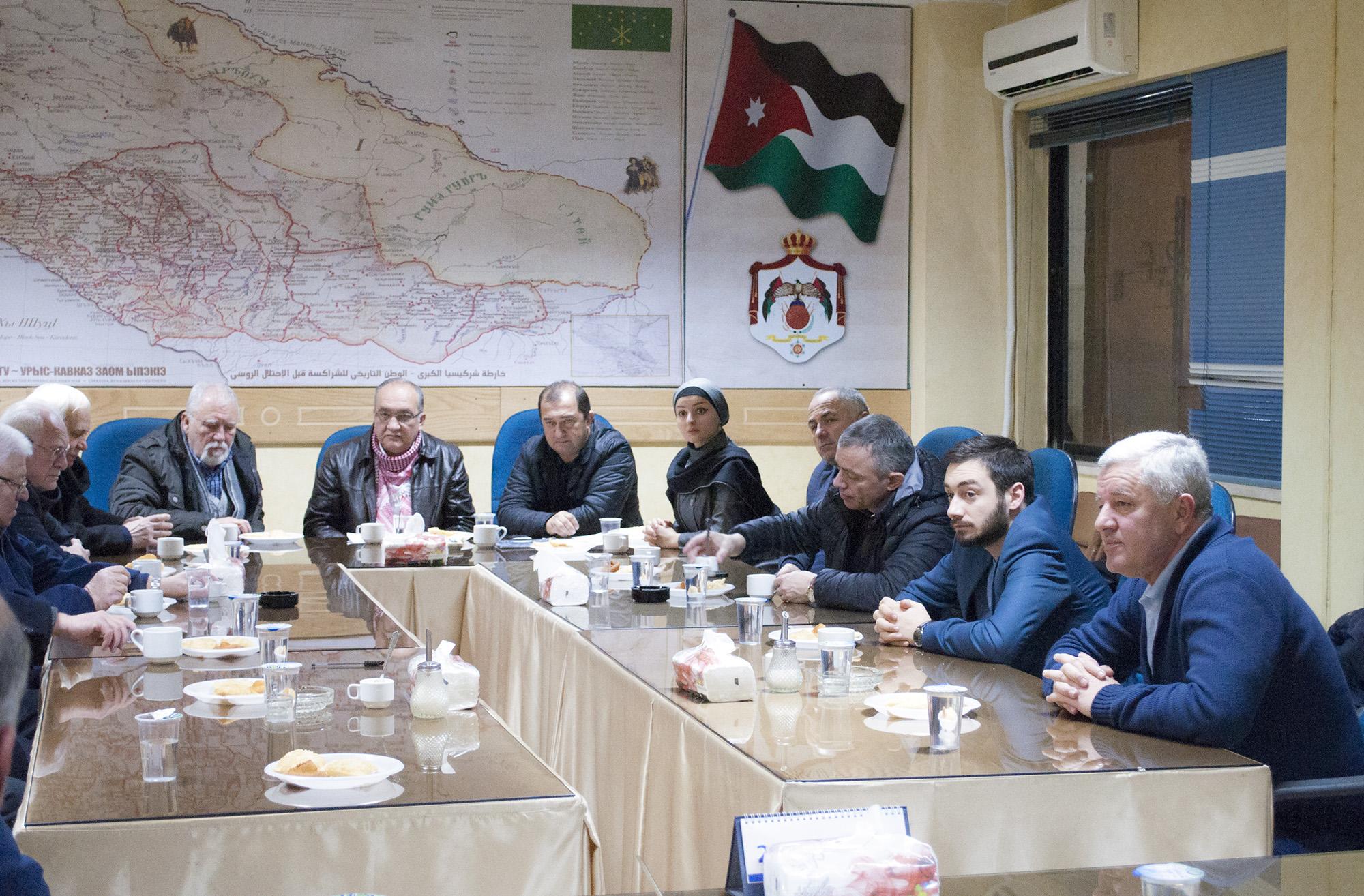 Общество Друзей Черкесов Народа Кавказа в Иордании