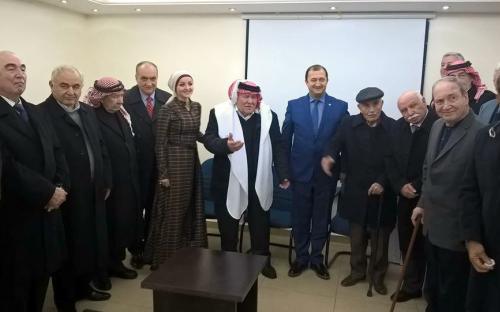 Встреча с Советом Старейшин Черкесов в Иордании