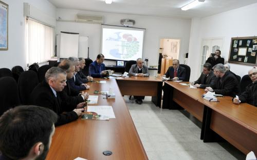 Встреча с Иорданской Ассоциацией Экспортеров Фруктов и Овощей
