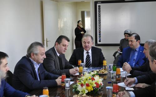 Встреча с Иорданской Ассоциацией Экспортеров